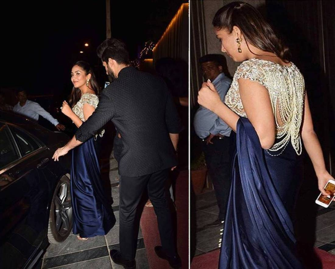 Mira Kapoor's Saree Makes For The Most Glamorous Wedding Look Of 2017
