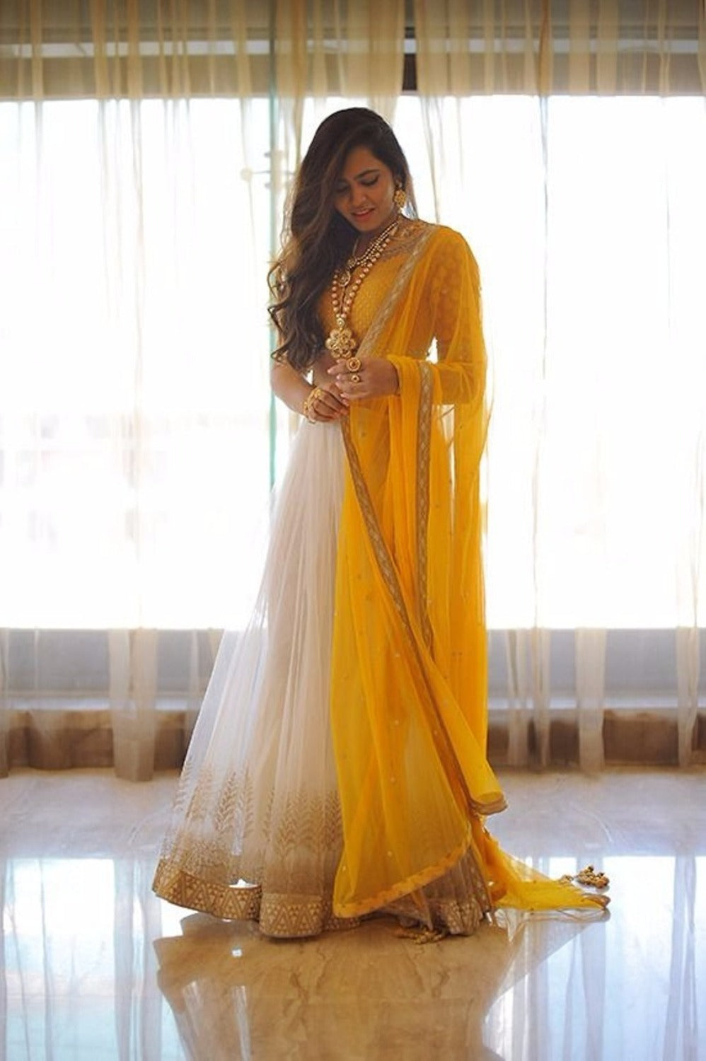 Day 1 Yellow: Navratri 2017