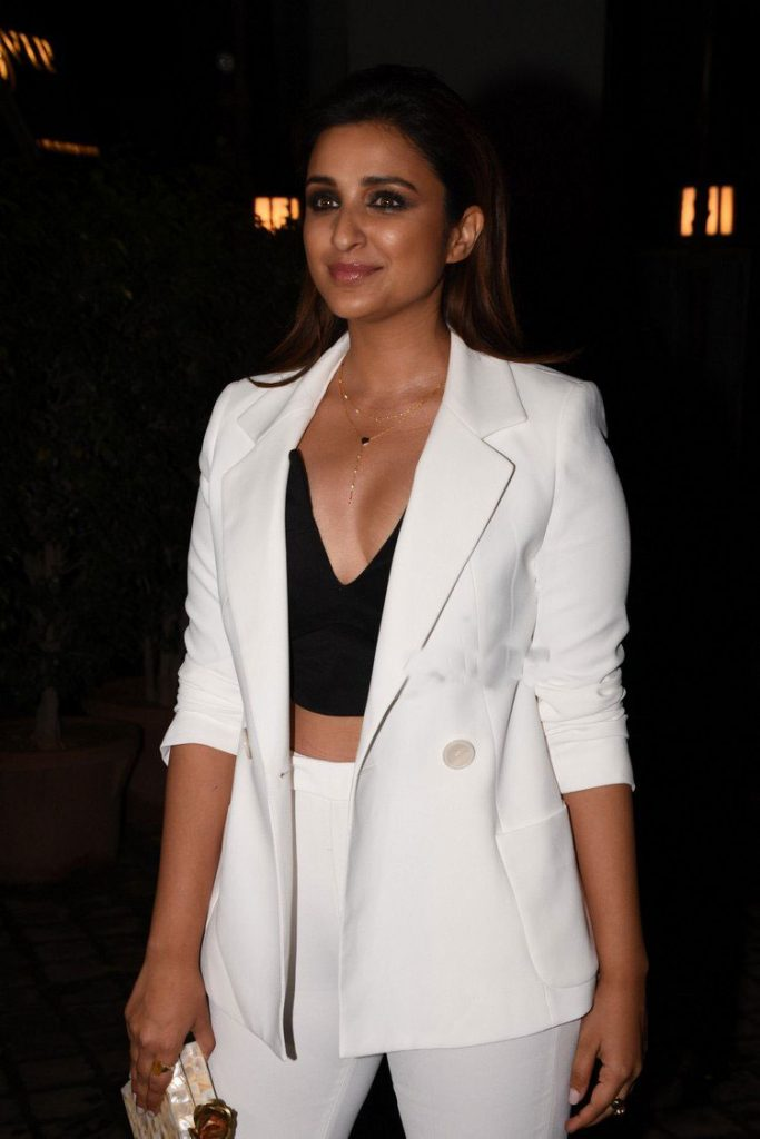 Parineeti-Chopra-in-Zara's-White-Pant-Suit