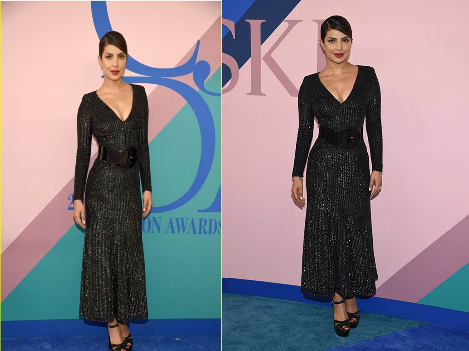 Priyanka Chopra Wear Michael Kors' Designs at CFDA Fashion Awards 2017