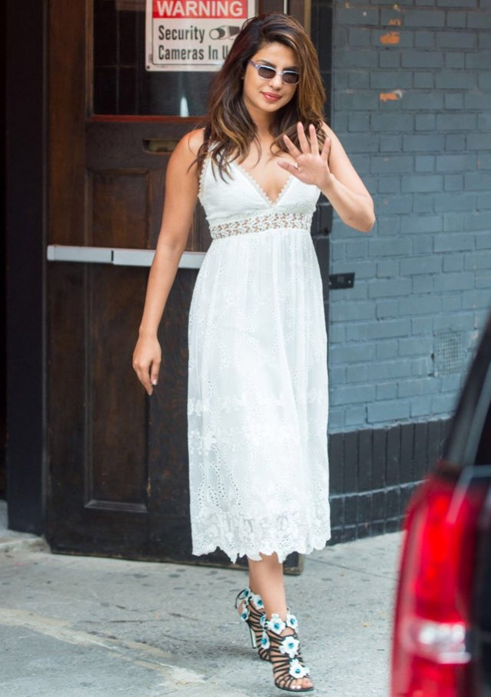 Priyanka Chopra Slays In White Zimmerman Creation