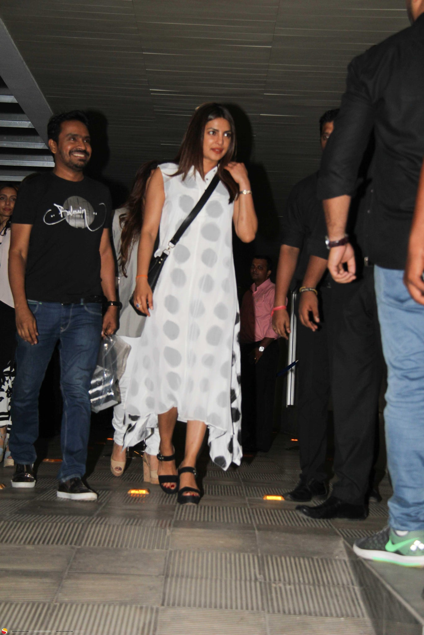 Priyanka Chopra Snapped at A Mumbai Restaurant