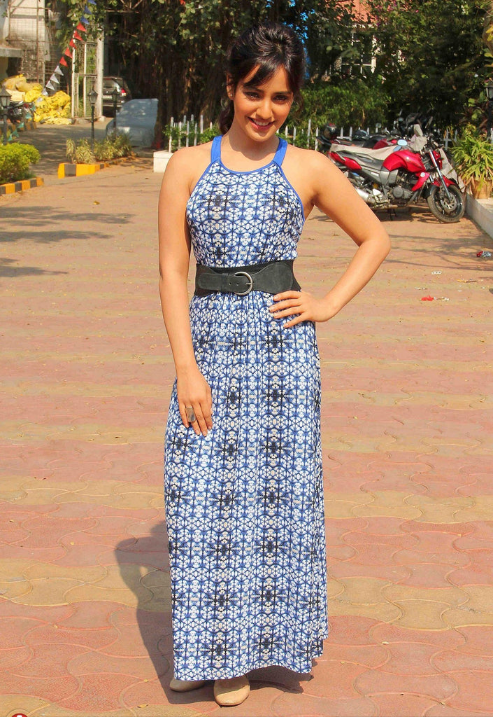 neha-sharma-in-printed-designer-dress