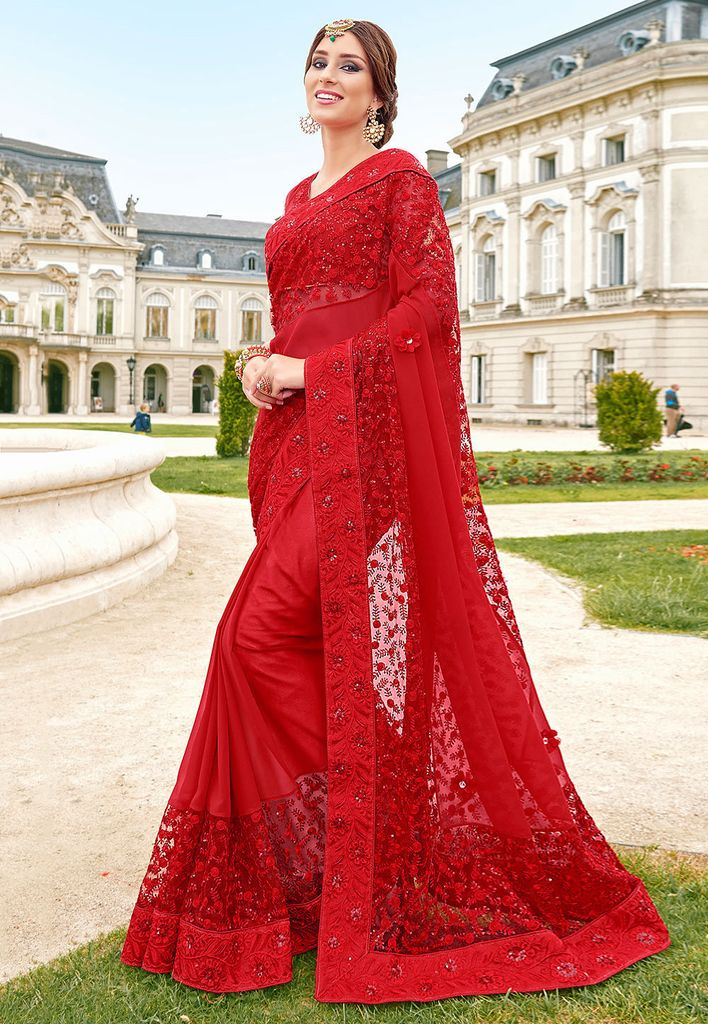 https://ladyindia.com/products/red-embroidered-georgette-saree