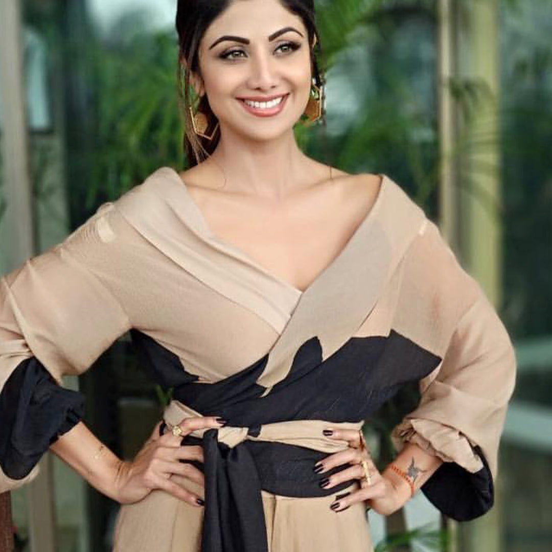 Shilpa Shetty in masaba Gupta's Dress