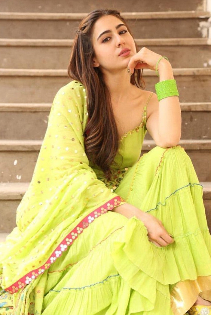 sara-ali-khan-in-lime-green-dress