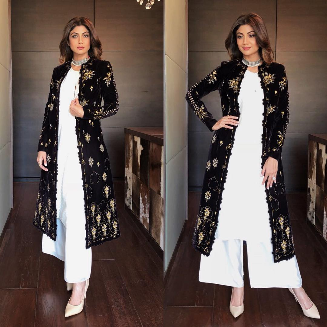 Shilpa Shetty Looked Like A Dream in Palazzo Suits