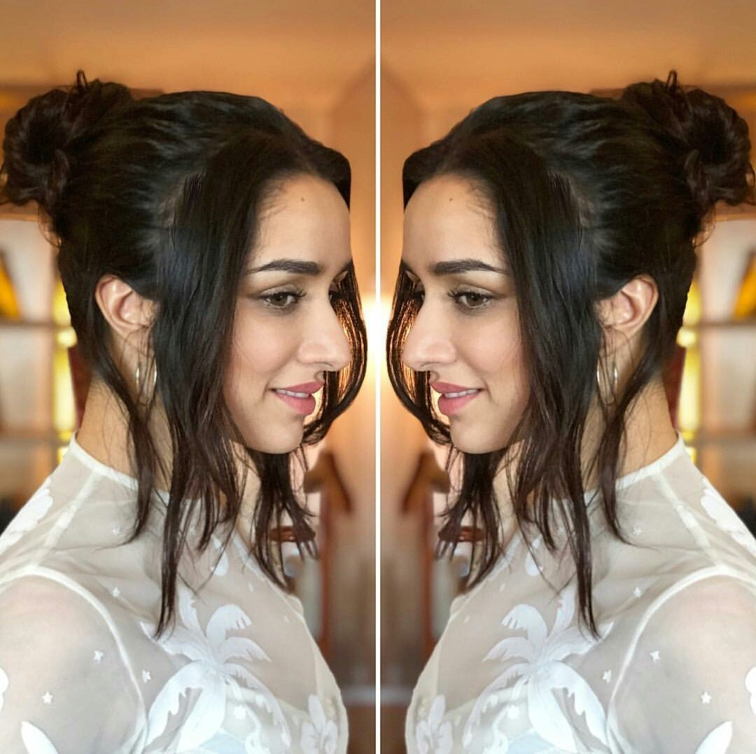 Shraddha Kapoor Shows Us How To Dress Up in All-White With Glamorous Style