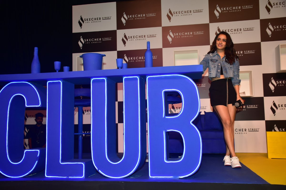 Shraddha Kapoor Proves This Denim Jacket With Skorts Trend Is Still Going Strong