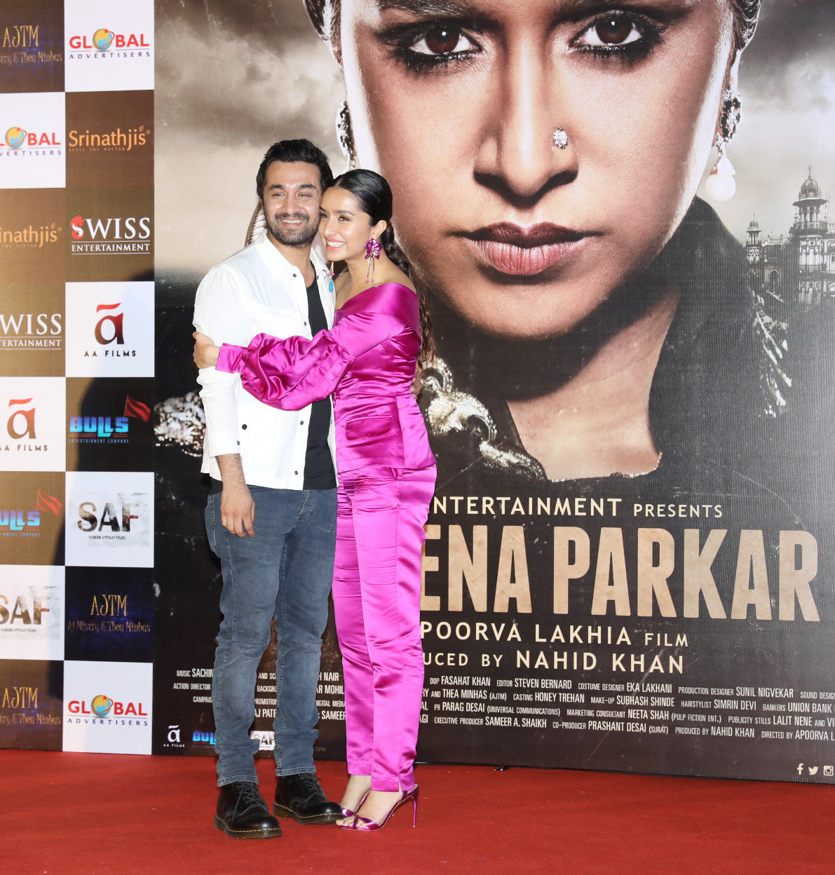 Shraddha Kapoor In Atsu Sekhose's Pantsuit At The Trailer Launch Event Of 'Haseena Parkar'