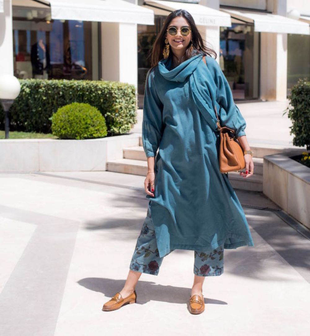 This Season Style Her Gorgeous Look With Palazzo Suits