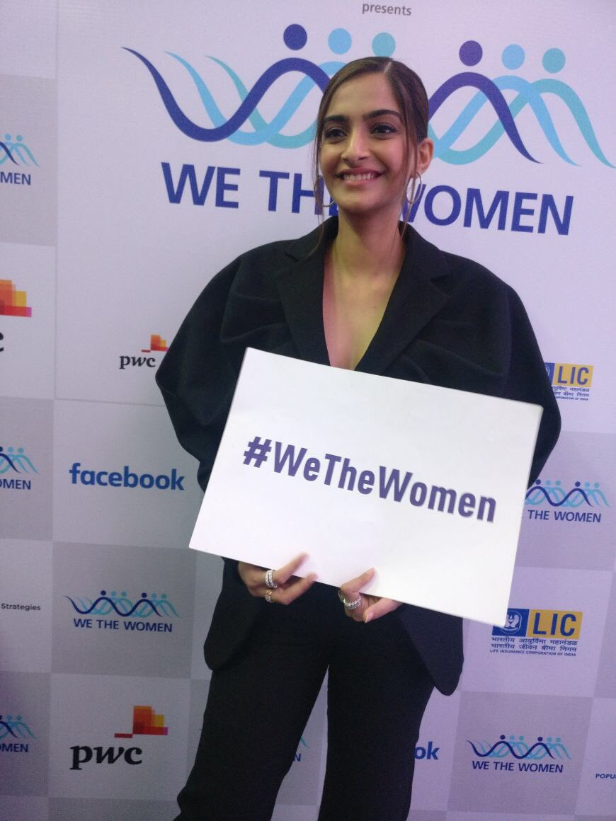Sonam Kapoor's Black Pantsuit is A Definite Winter Must-Have