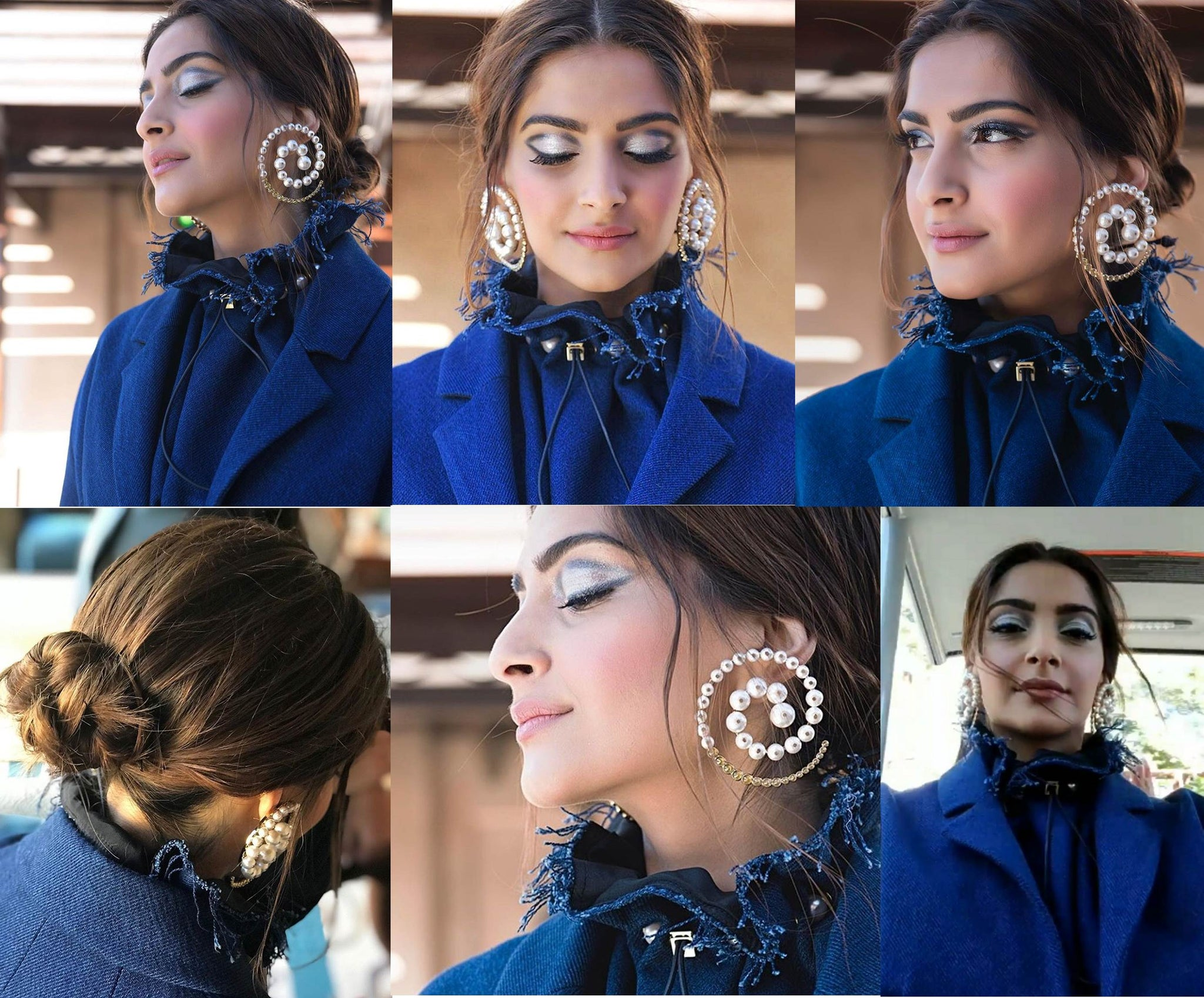 Sonam Kapoor looked beauitful in Denim Look
