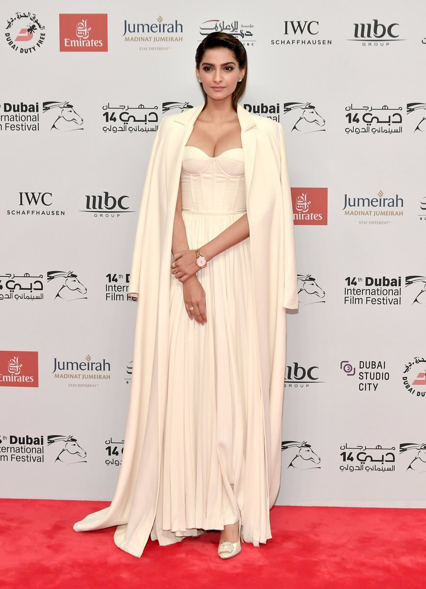 Sonam kapoor at 14th Dubai International Film Festival