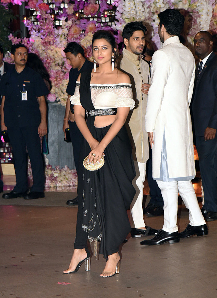 Parineeti-Chopra-in-Shantanu-and-Nikhil's-Pant-Style-Saree