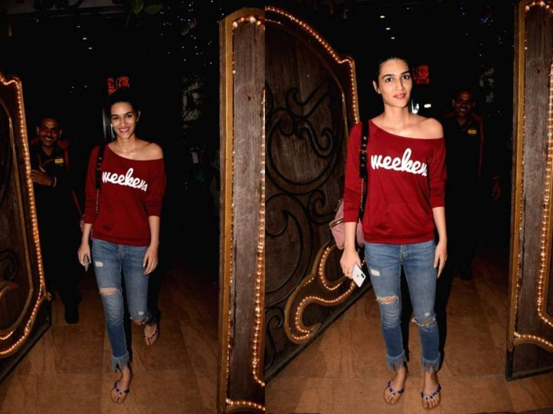 We Are Majorly Crushing On Kriti Sanon's Weekend Look