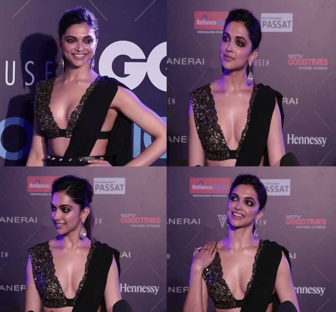 Well, we've always been a fan of sarees, especially when they are draped on Deepika's lean and tall frame.