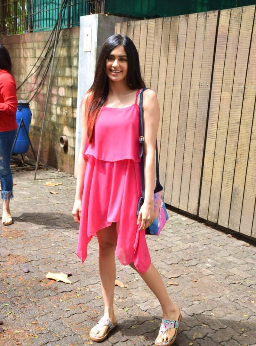 Adah-Sharma-in-designer-pink-dress