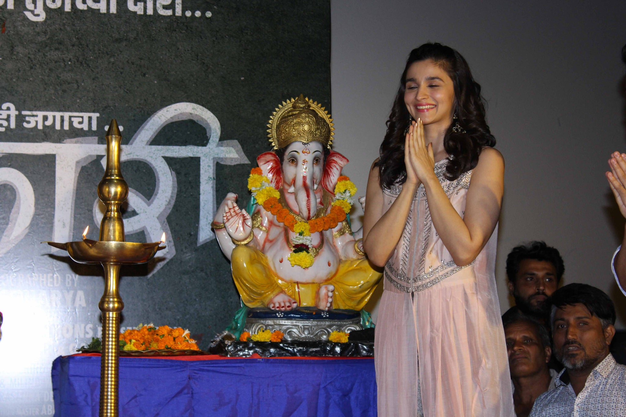 Alia Bhatt Snapped At a Song Launch Event In Mumbai
