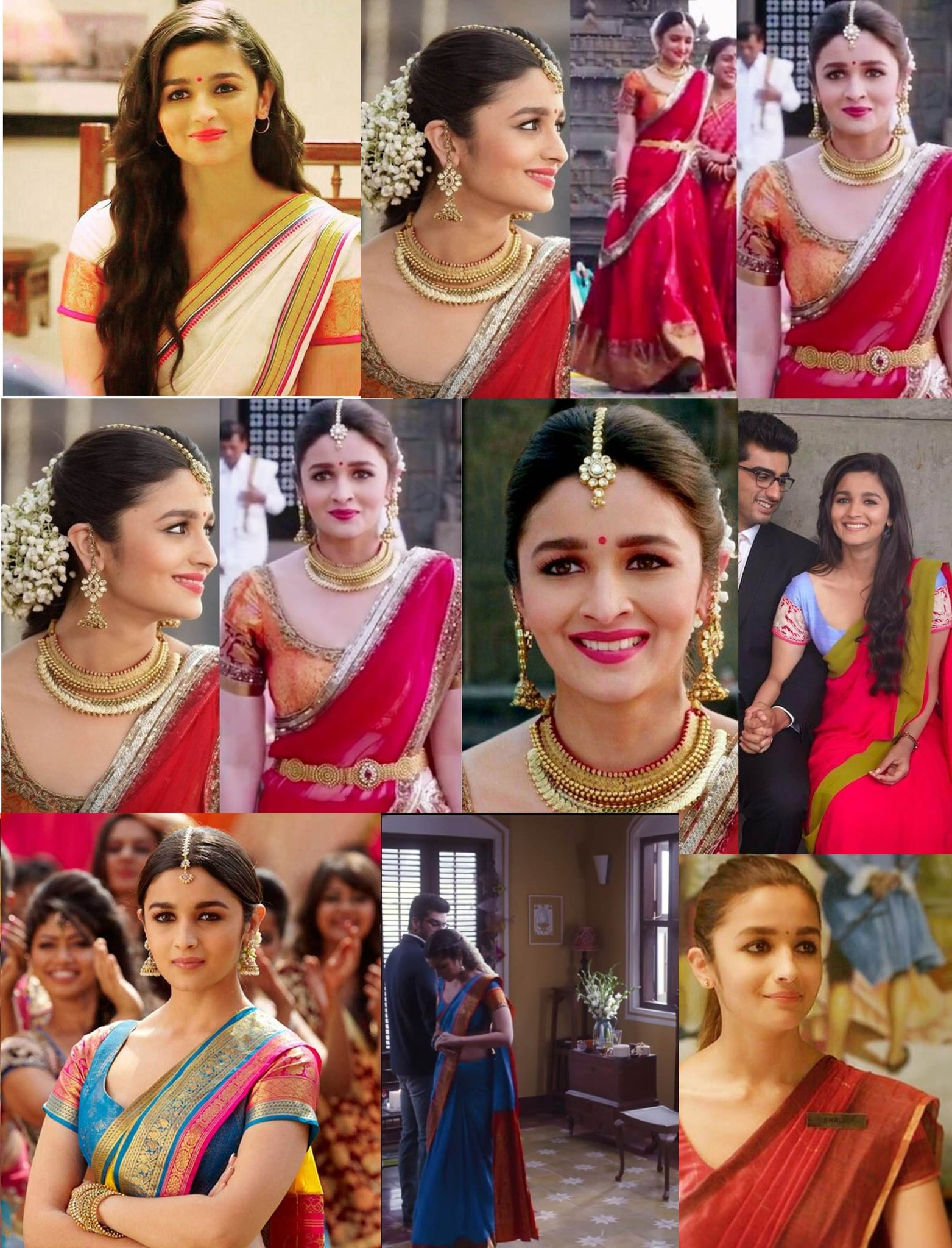 Alia Bhatt In Saree Alia Bhatt Sarees Alia Bhatt In 2 States