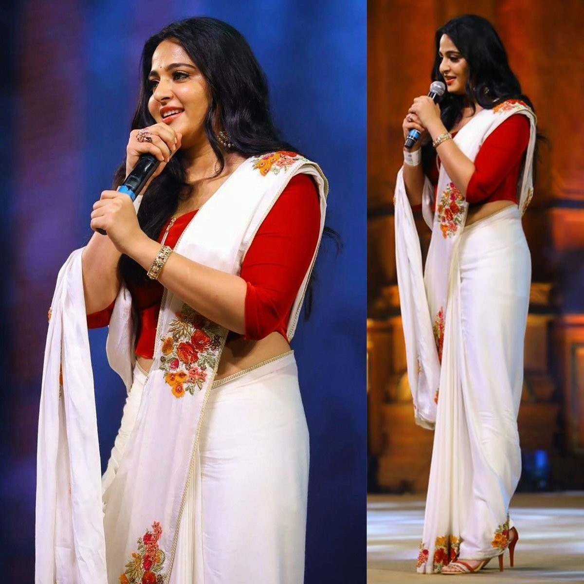 anushka-shetty-in-White-saree