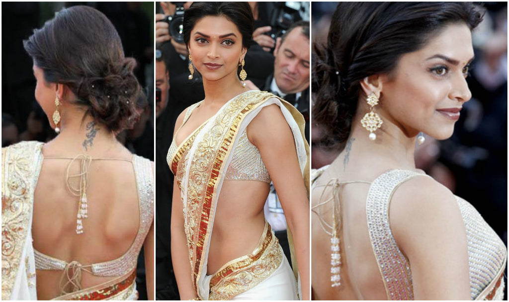 deepika-in-saree