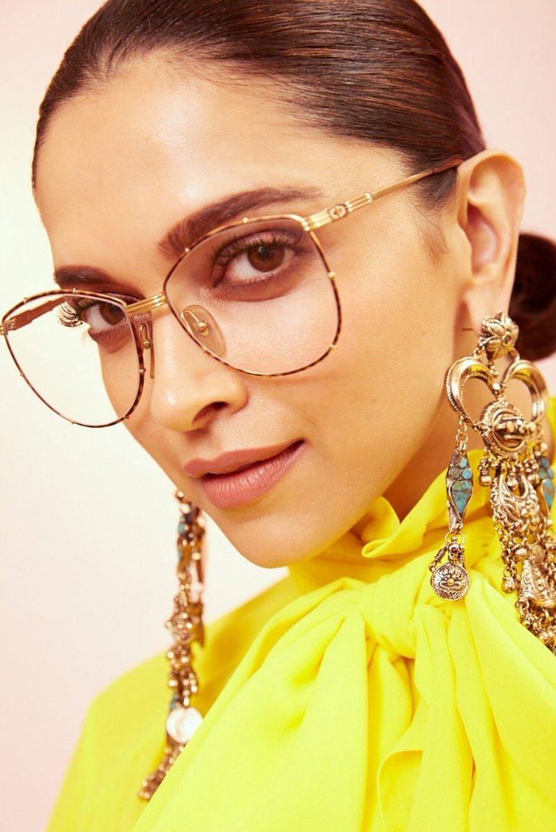 Deepika Padukone's Latest Designer Ruffled Yellow Saree is a Must-have