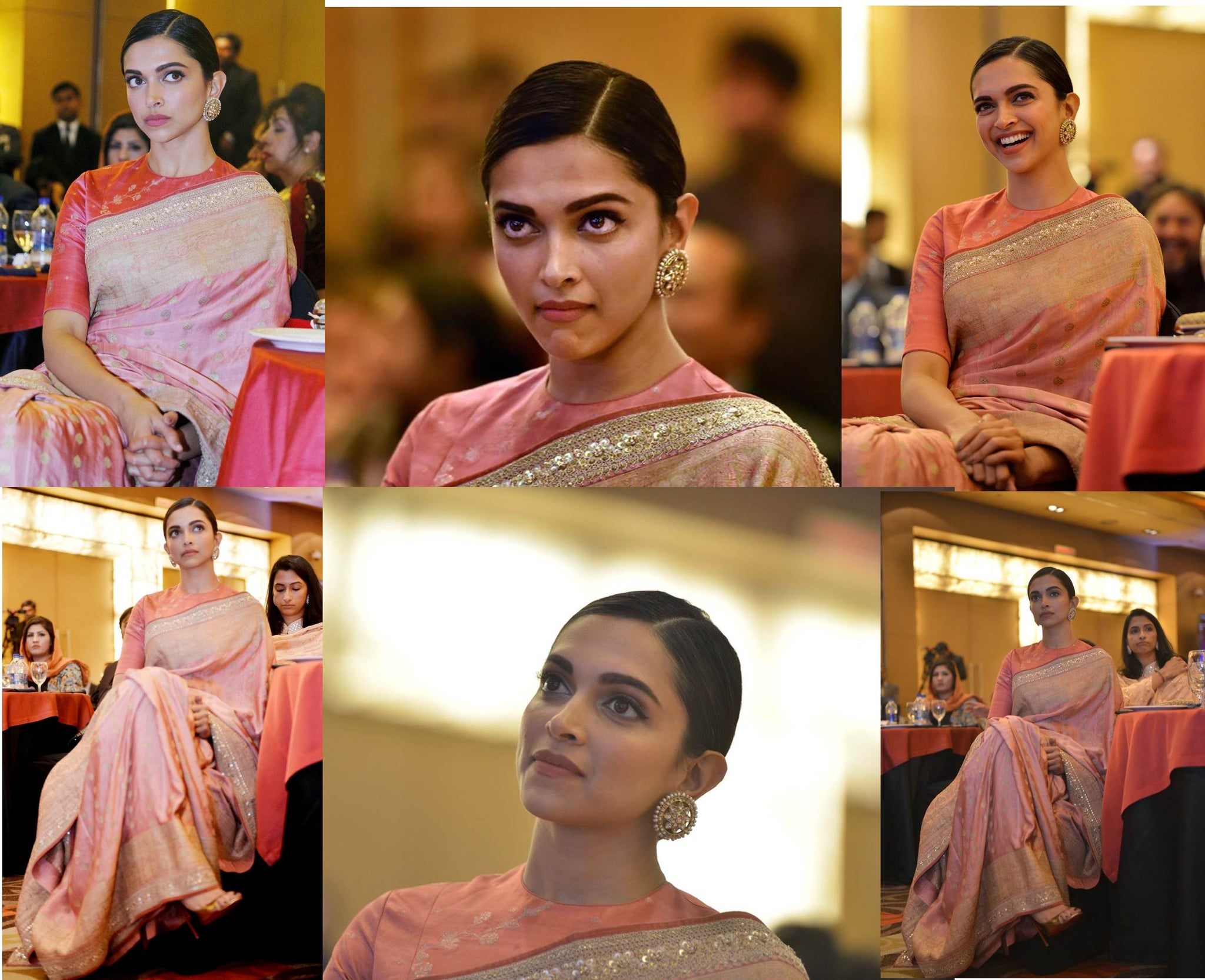 Deepika Padukone Hit The Style Game in Sabyasachi Heritage Collection's Banarasi Saree
