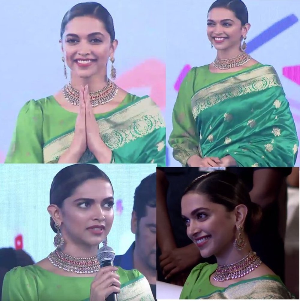 Deepika Padukone In Banarasi Saree Style is Giving Us Pure Traditional Goals!