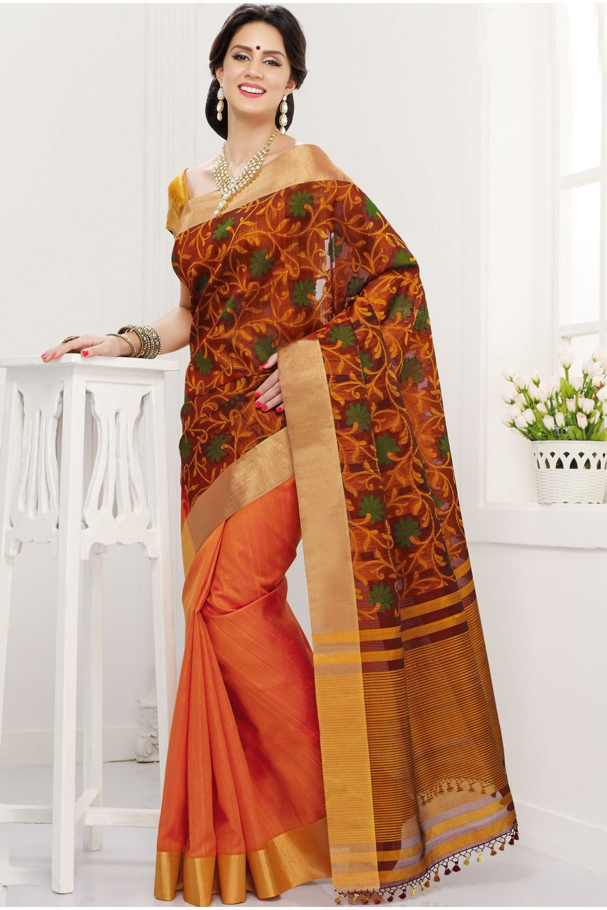 cotton silk saree online
