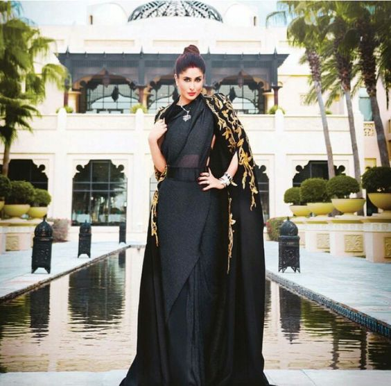 kareena-kapoor-khan-in-designer-cape-with-saree
