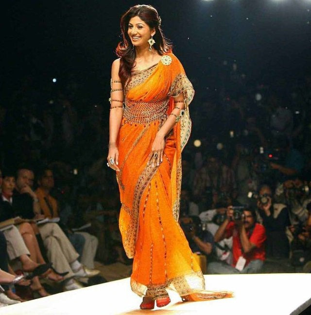 Shilpa-in-designer-saree
