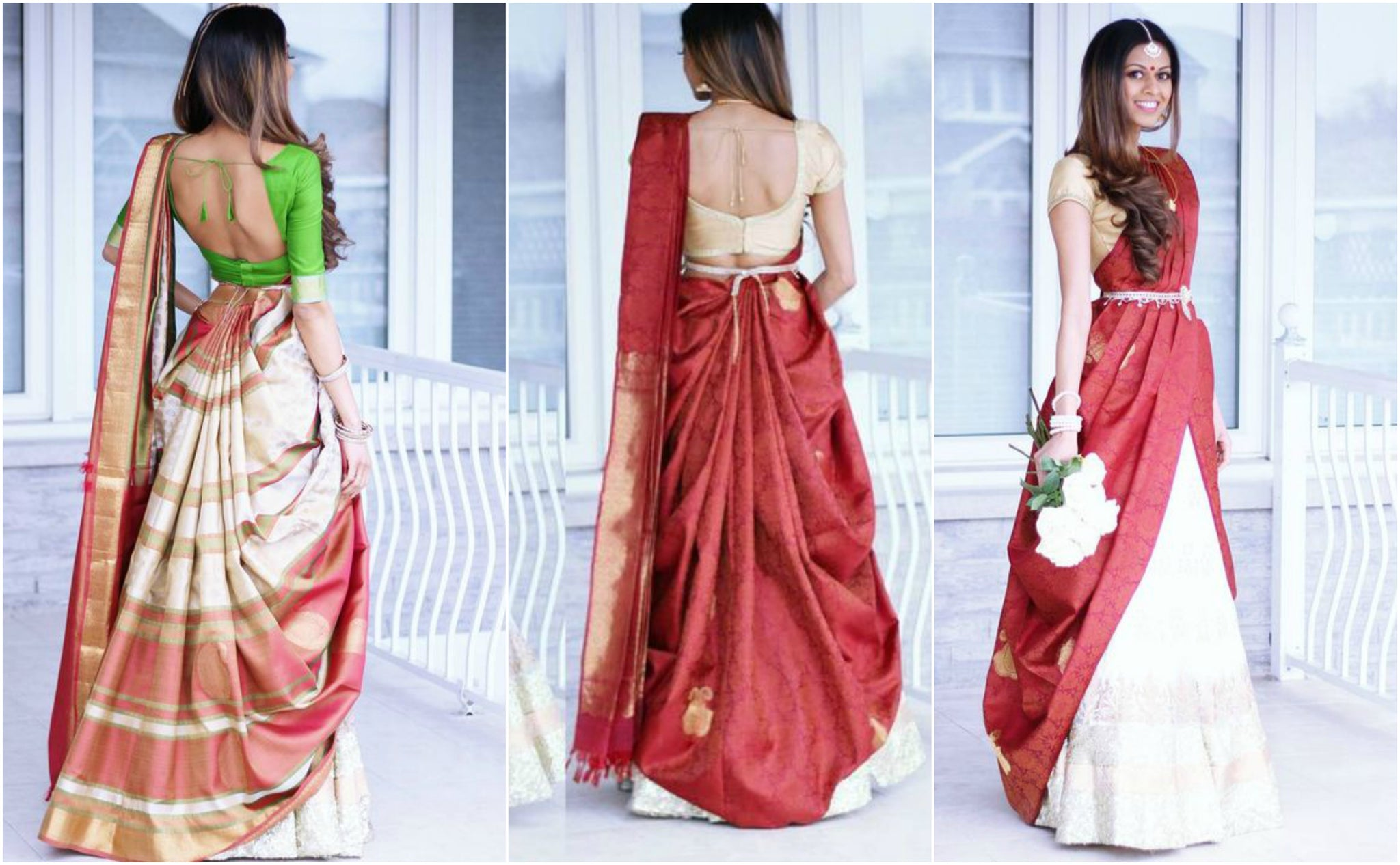 half-saree-draping-styles