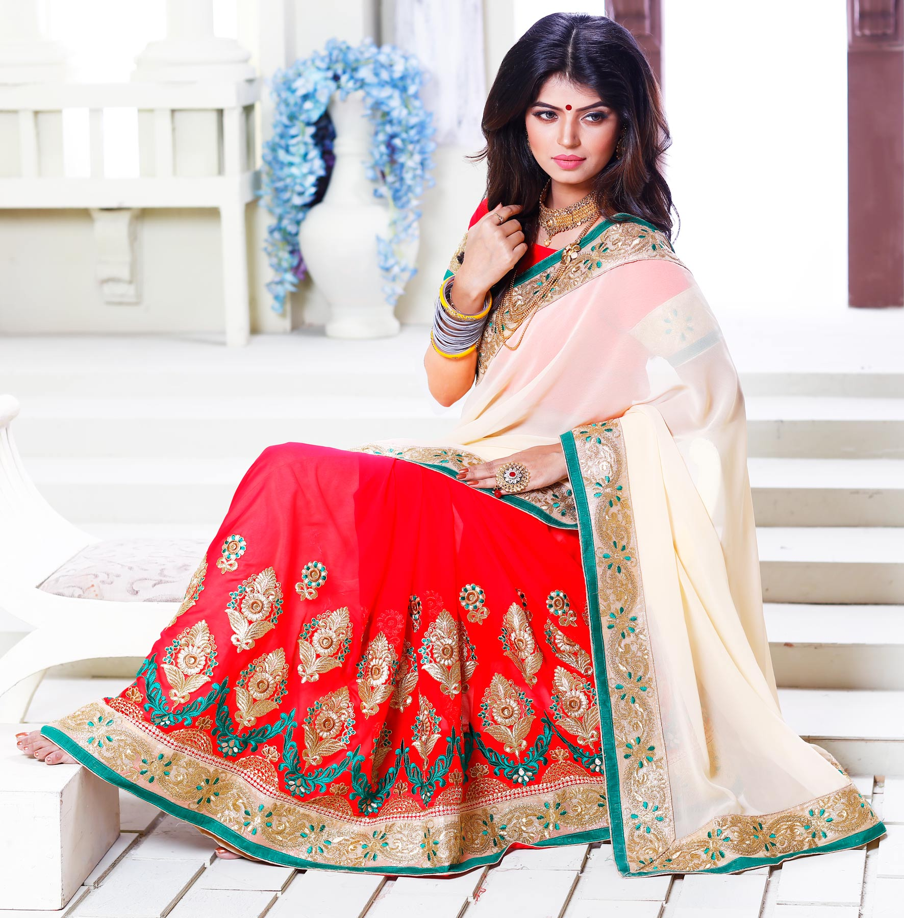 half-saree-online-shopping