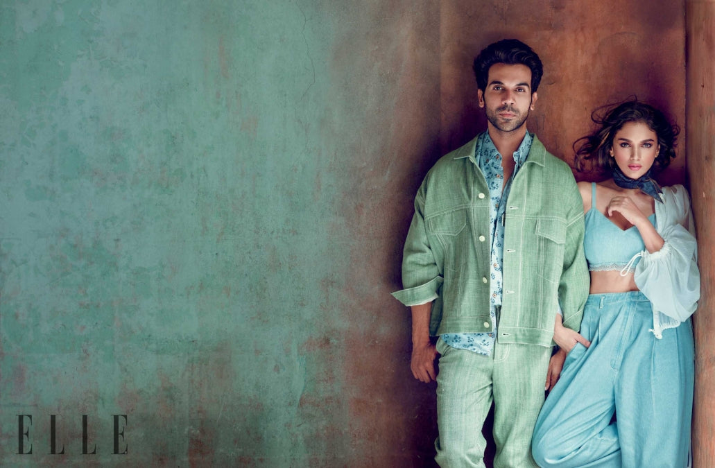 Rajkummar-Rao-&-Aditi-Rao-Hydari-are-Slaying-Together-in-Elle's-Photoshoot