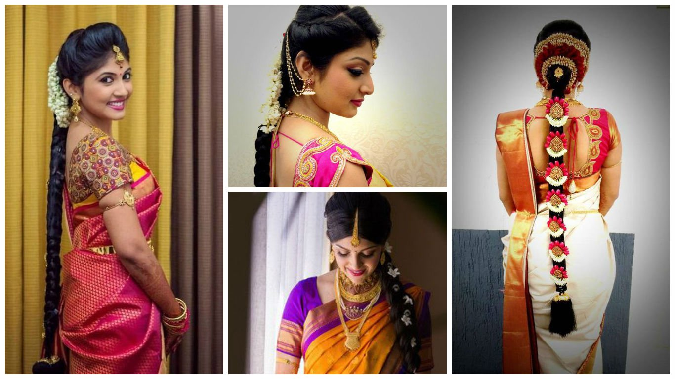 indian hairstyles for saree