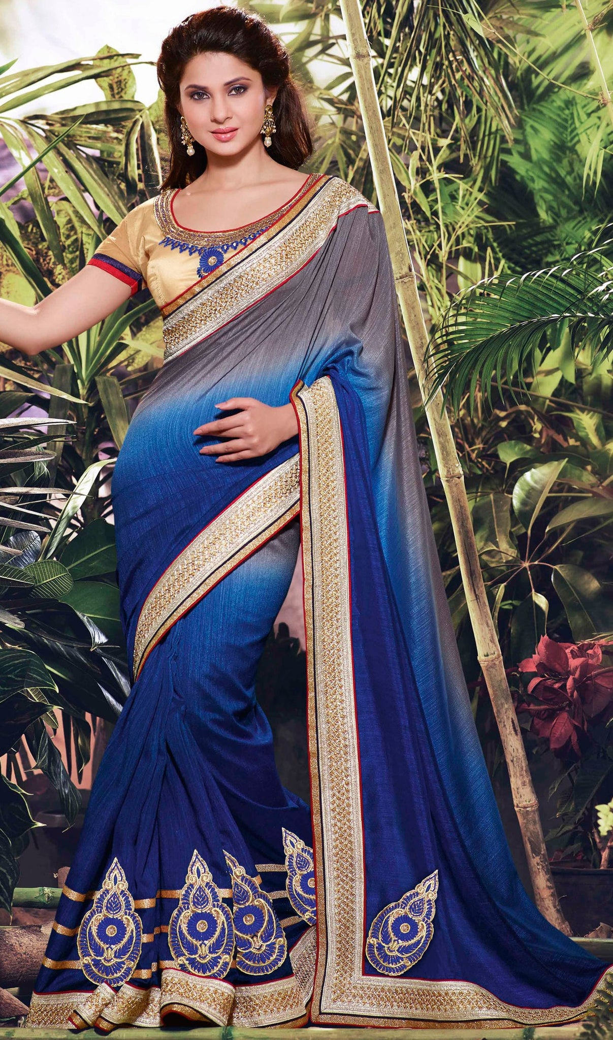 jennifer-winget-in-saree