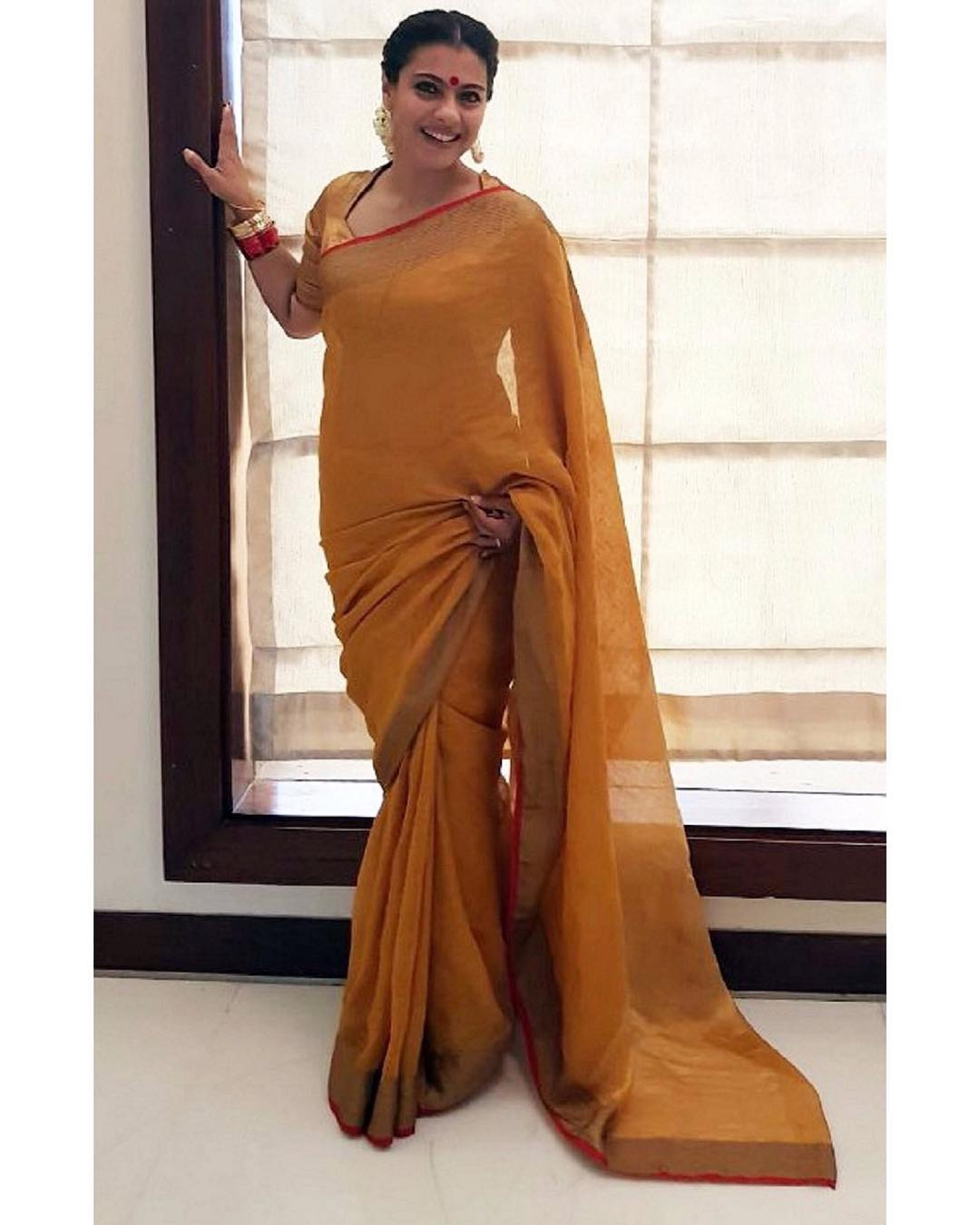 Kajol in Anavila Saree