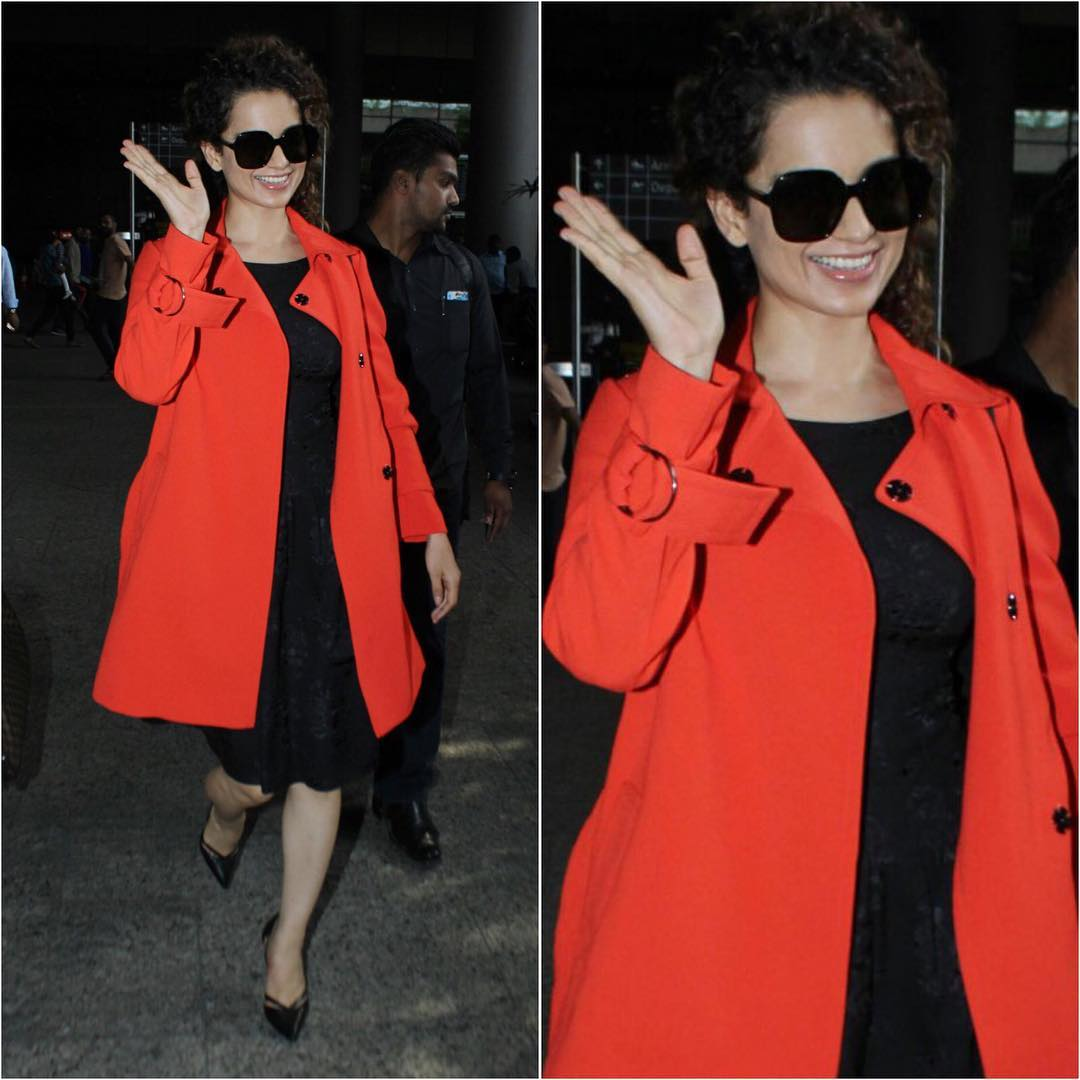 Kangana Ranaut is a fiery woman right down to her bones.