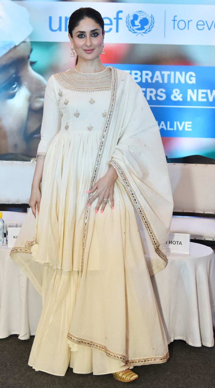 Kareena Kapoor Khan in Punit Balana's Anarkali Suit with Skirt