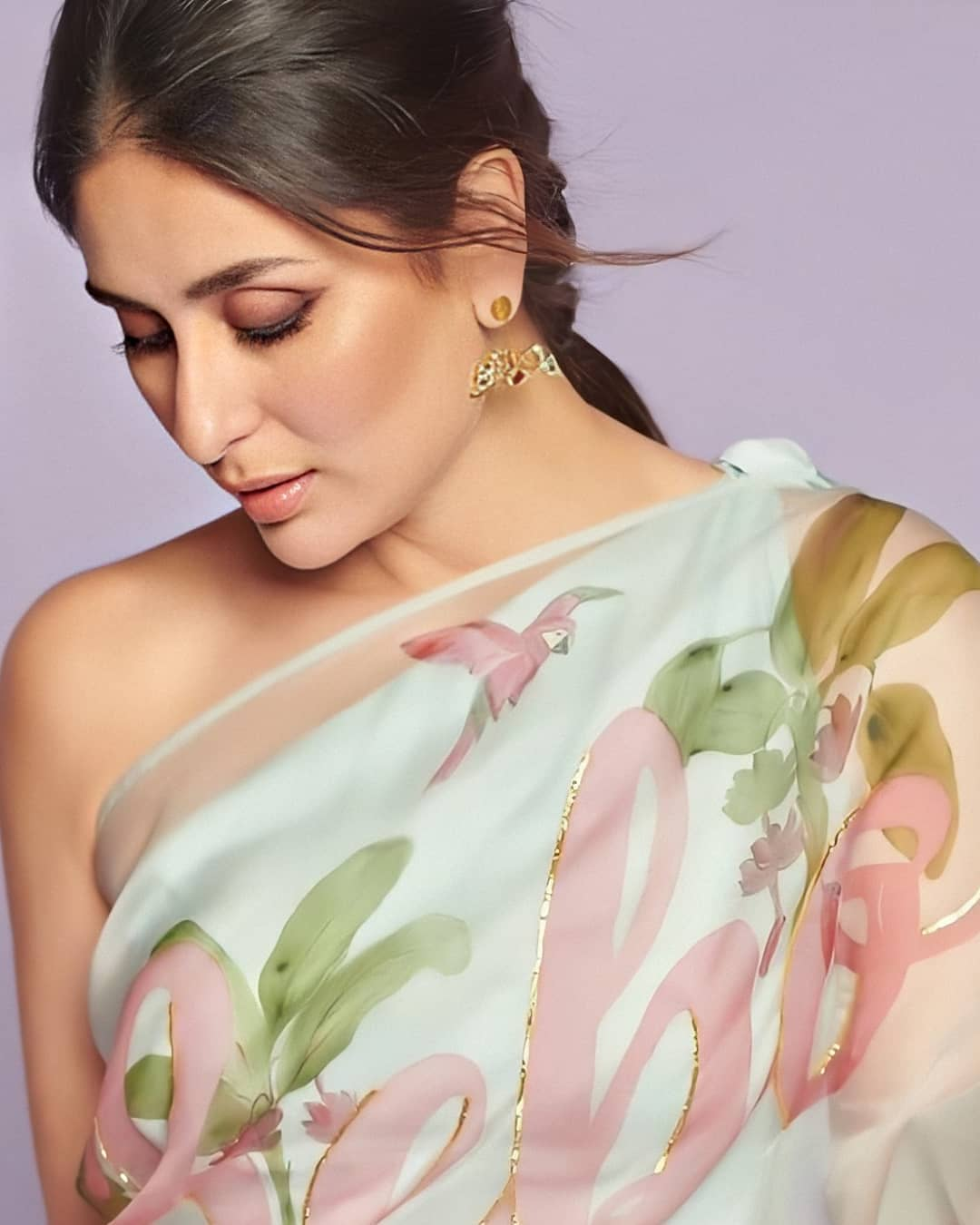 kareena kapoor khan in printed saree