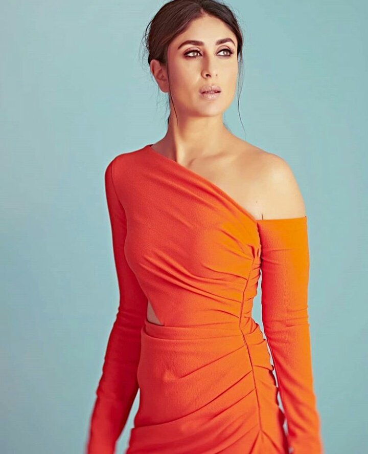 Kareena Kapoor Khan in one-shoulder Dress from Gauri and Nainika's Collection