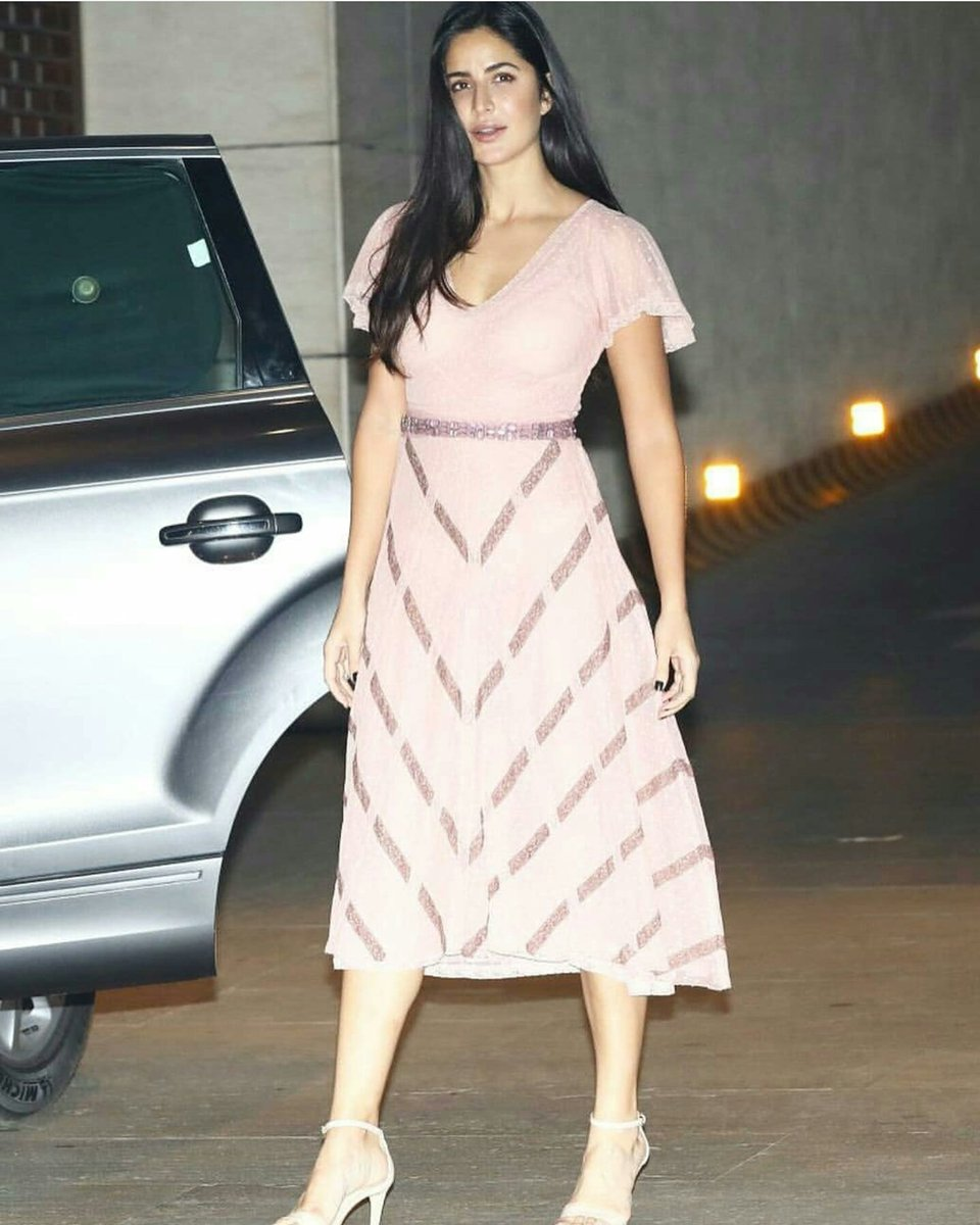 Katrina Kaif in Luisa Beccaria's Dress at Akash Ambani & Shloka Mehta's Engagement Party