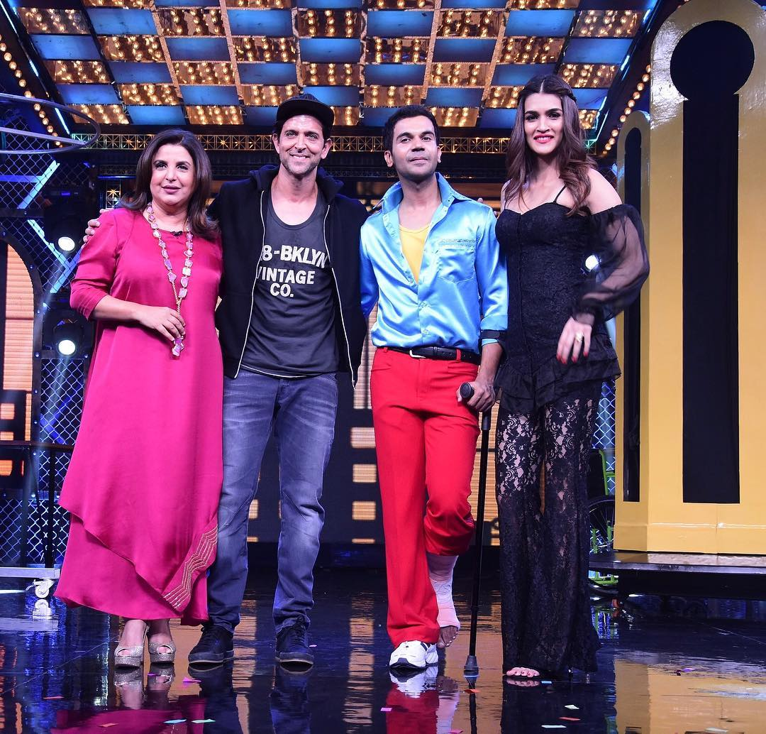 Kriti Sanon Rocks The Beautiful Black Look On The Sets Of  Lip Sing Battle