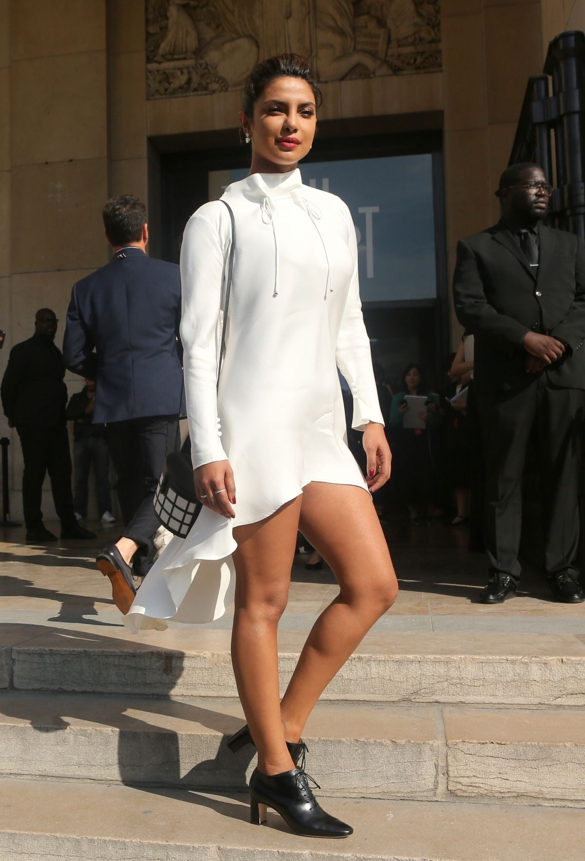 PRIYANKA CHOPRA at Giorgio Armani Prive Haute Couture Show in Paris