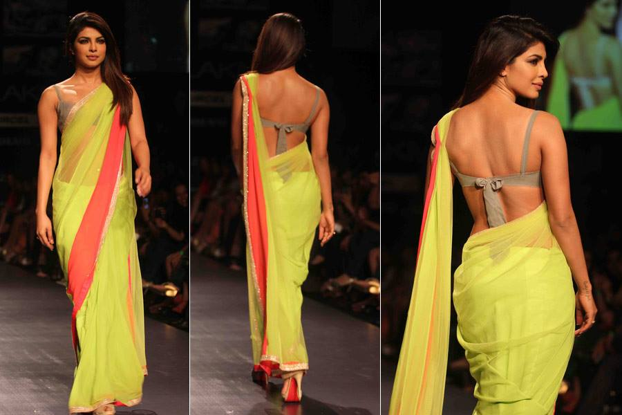 priyanka-chopra-backless-saree