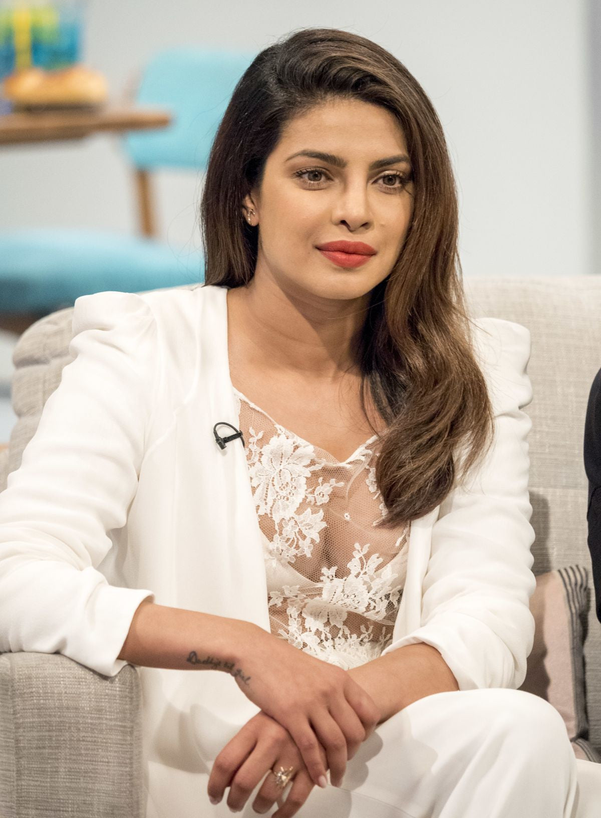 PRIYANKA CHOPRA Arrives at ITV Studio in London fro her Baywatch movie Promotion