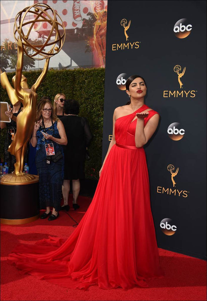 Priyanka-Chopra-Red-Dress-Emmys-2016