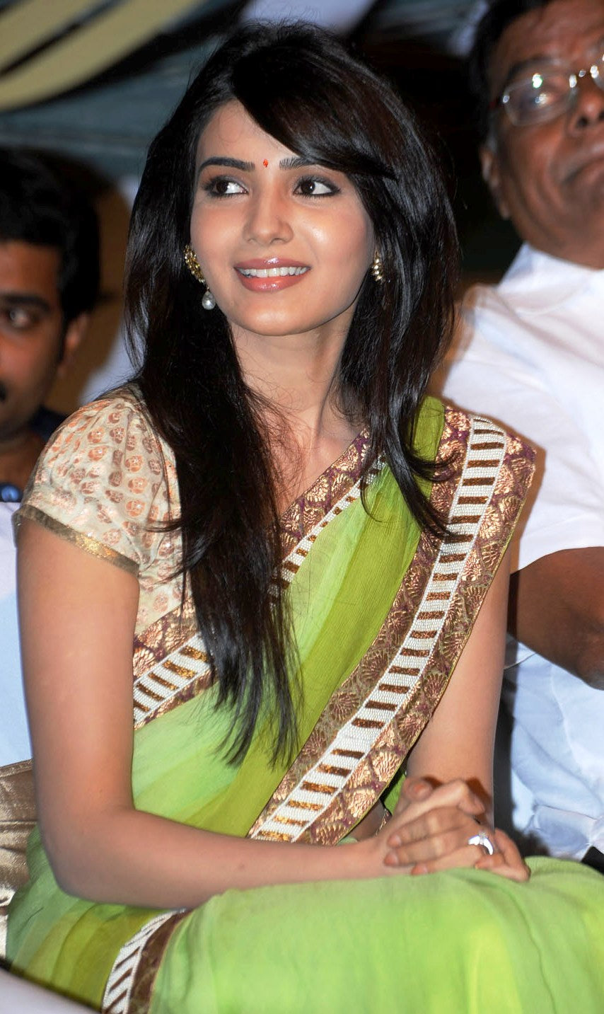 samantha ruth prabhu in saree in dookudu