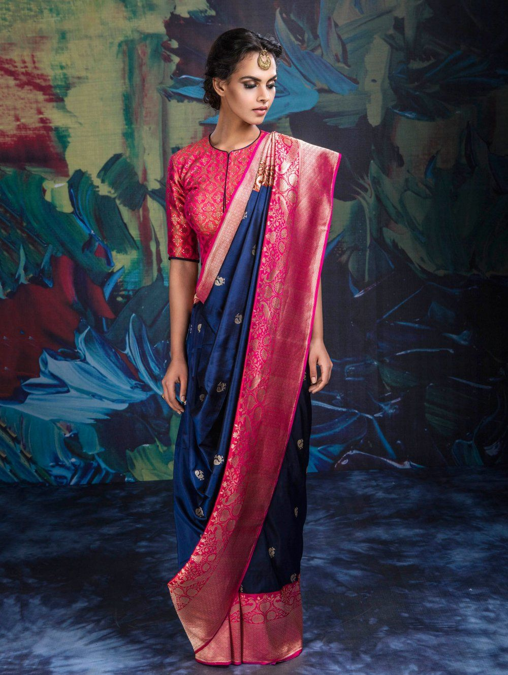 silk-saree-blouse-designs